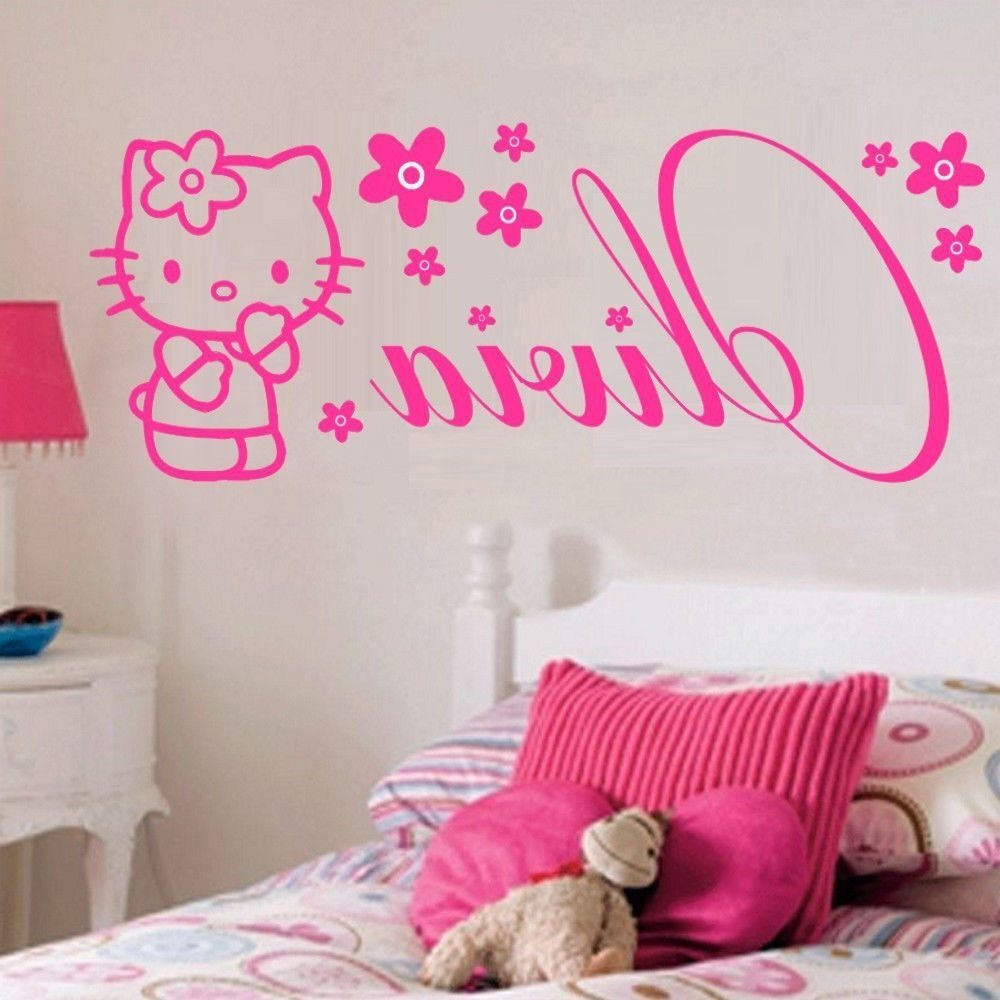 Pink Camo Wall Decals