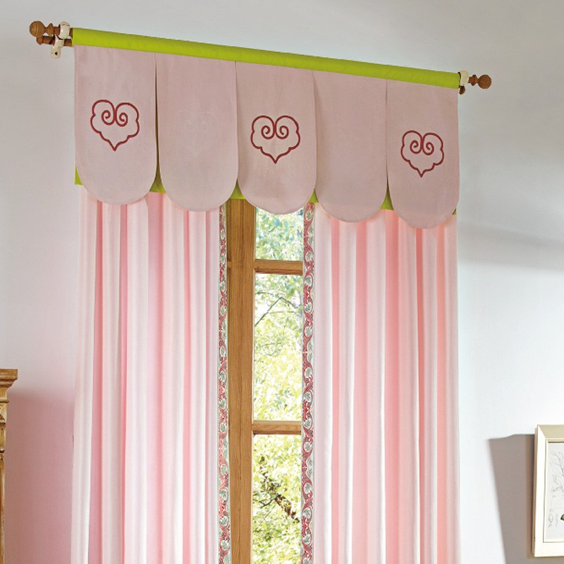 Pink Valance Curtains
