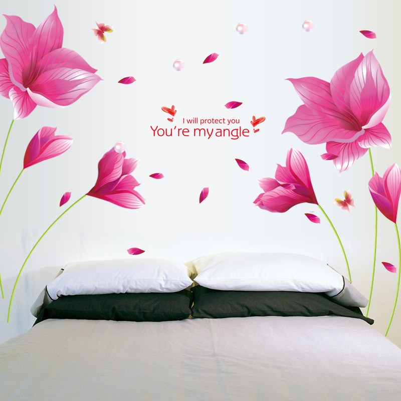 Pink Wall Decals