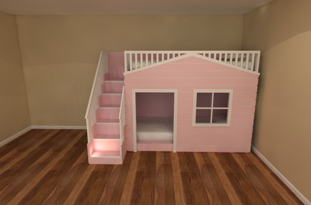 Playhouse Beds For Kids