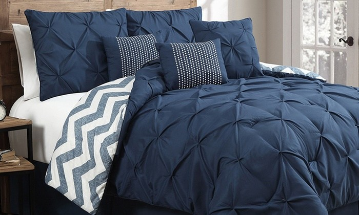 Pleated Comforter Sets