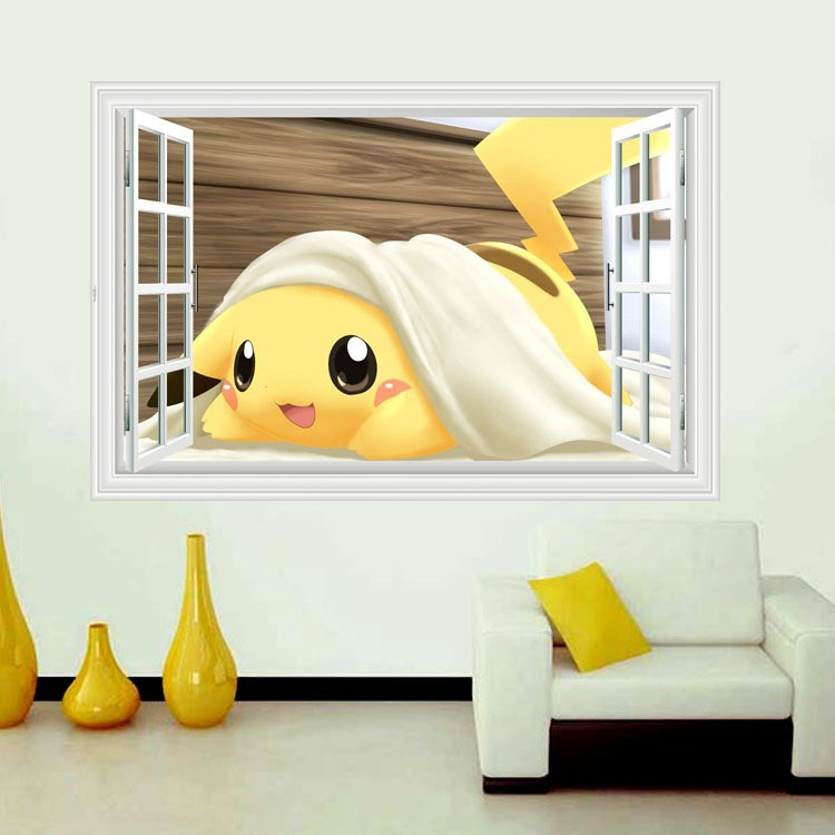 Pokemon Wall Decals Large