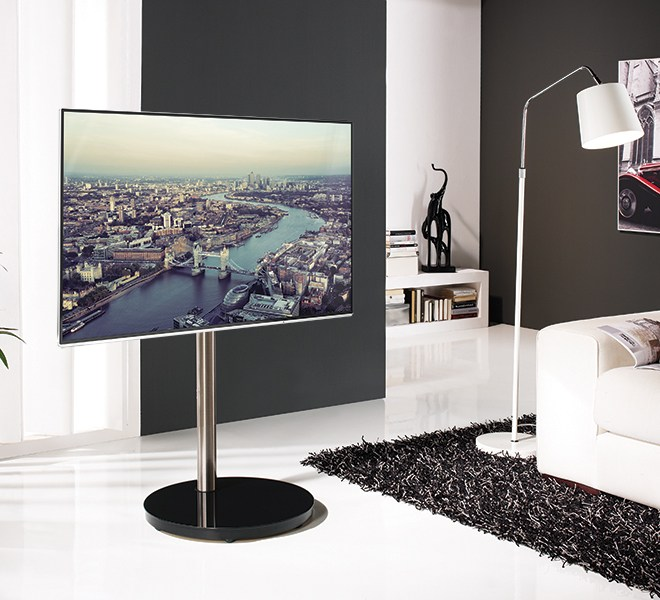 Pole Tv Stands Flat Screens