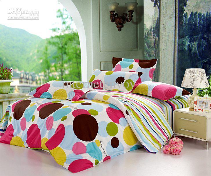 Polka Dot Comforter Set Queen