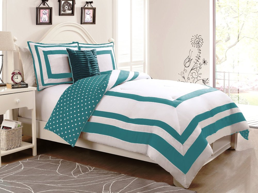 Polka Dot Comforter Set Twin