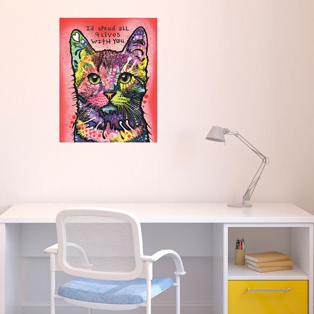 Pop Art Wall Decal