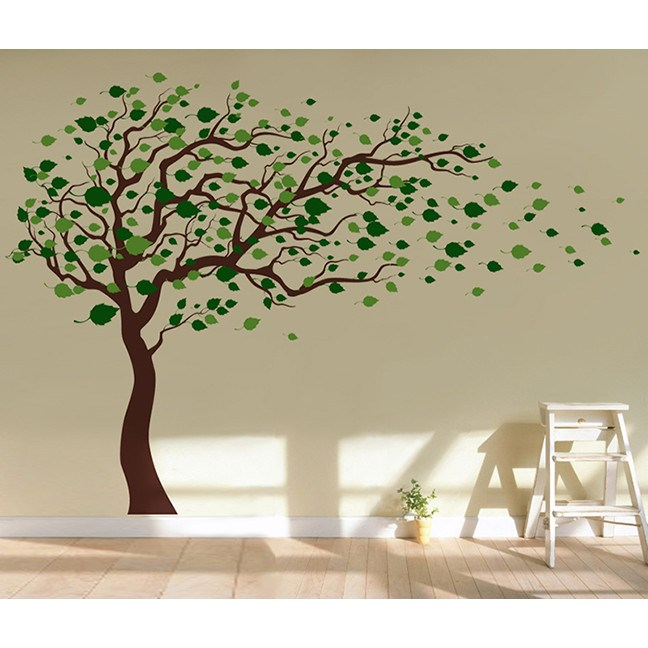 Pop Decor Wall Decals Tree