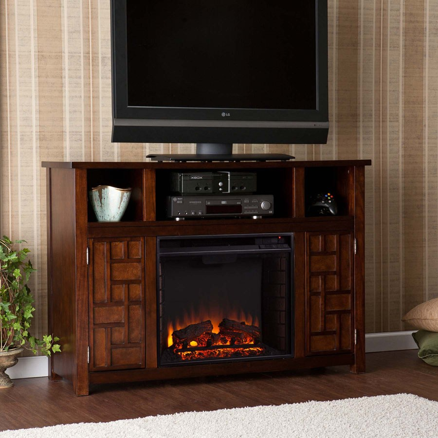 Portable Fireplace Tv Stand