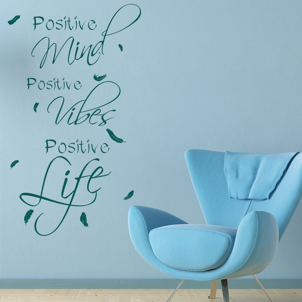 Positive Quote Wall Decals