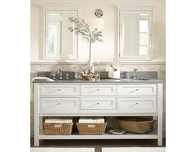 Pottery Barn Bathroom Cabinets