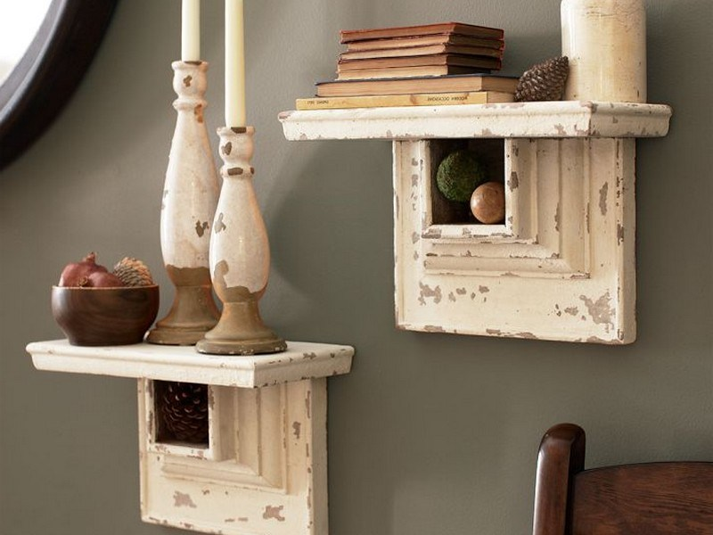 Pottery Barn Floating Shelves