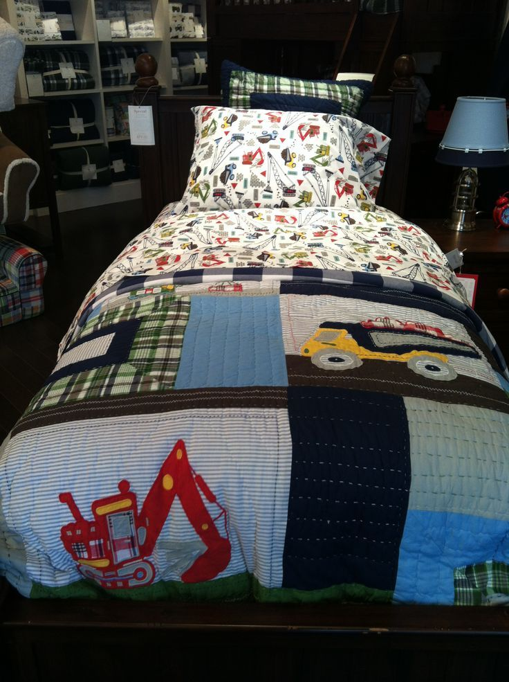 Pottery Barn Kids Construction Bedding