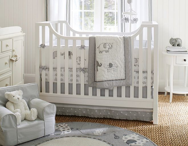 Pottery Barn Kids Elephant Bedding