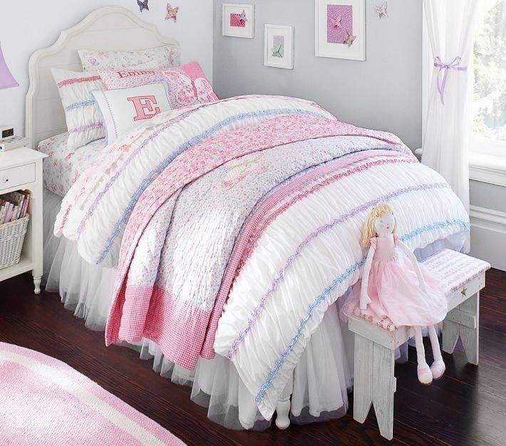 Pottery Barn Kids Girl Bedding