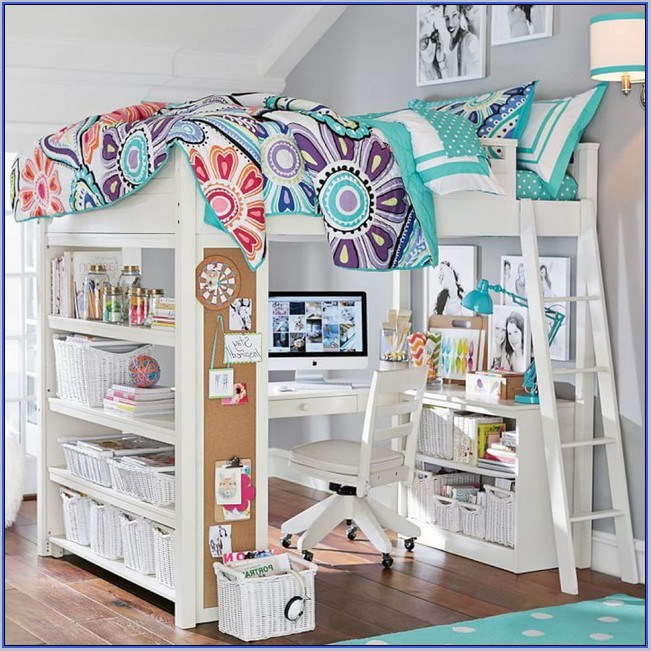 Pottery Barn Kids Loft Bed