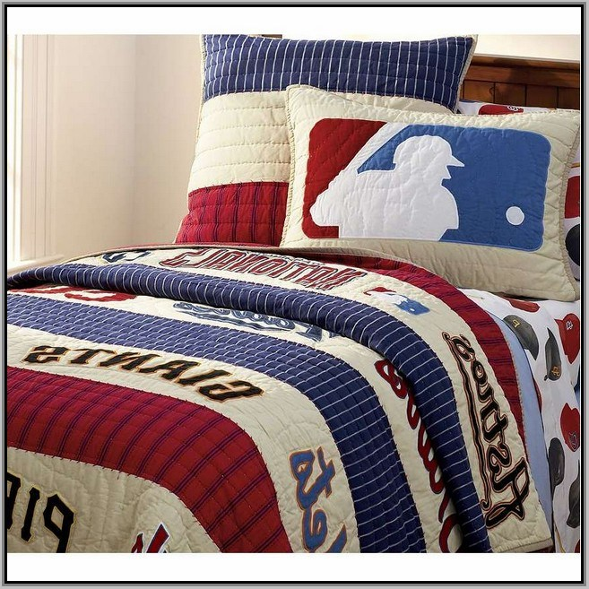 Pottery Barn Kids Sports Bedding