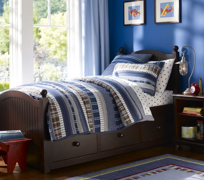 Pottery Barn Kids Storage Bed
