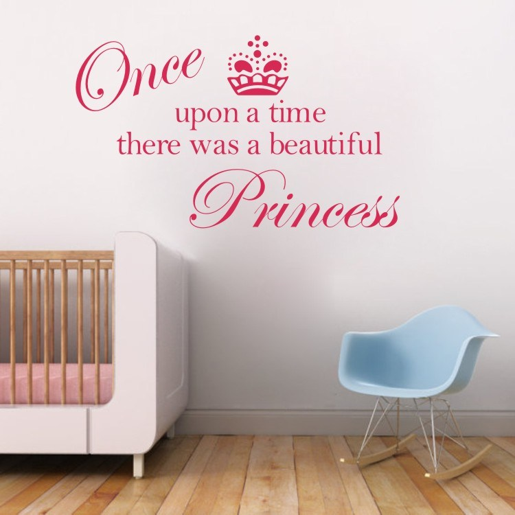 Princess Crown Wall Decals