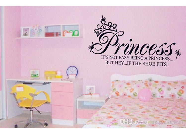 Princess Headboard Wall Decal