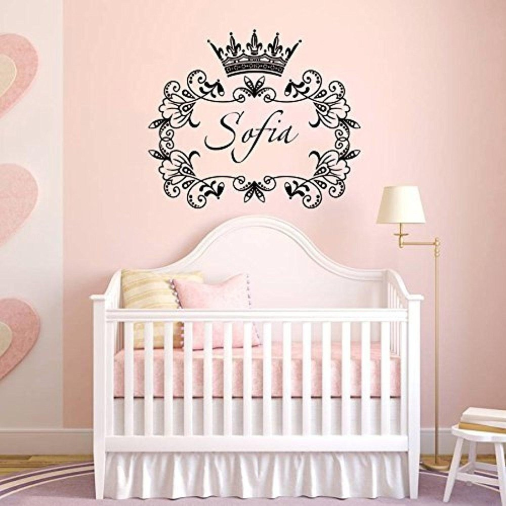 Princess Name Wall Decals