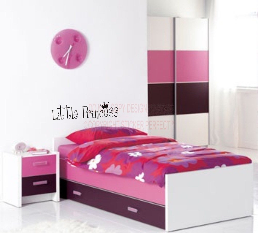 Princess Sayings Wall Decals