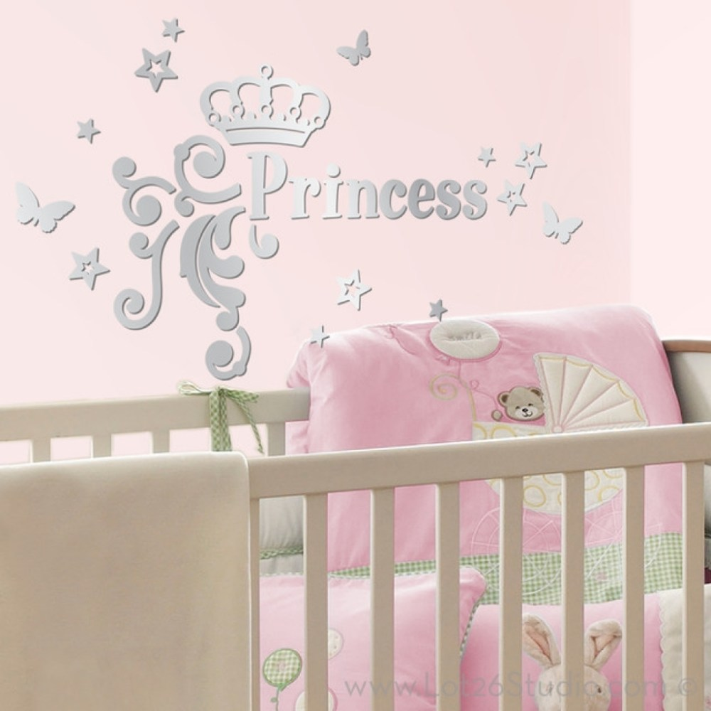 Princess Wall Decals For Kids