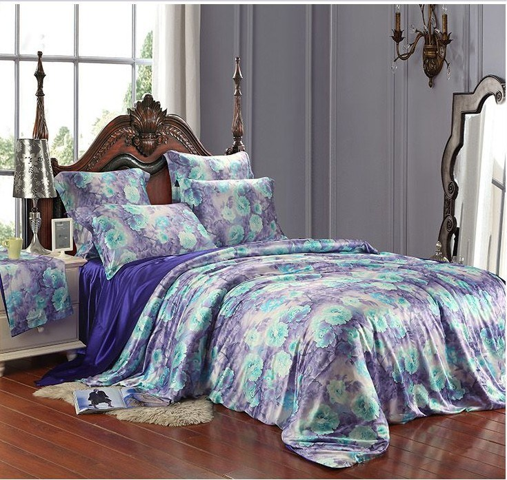Purple And Blue Comforter Sets