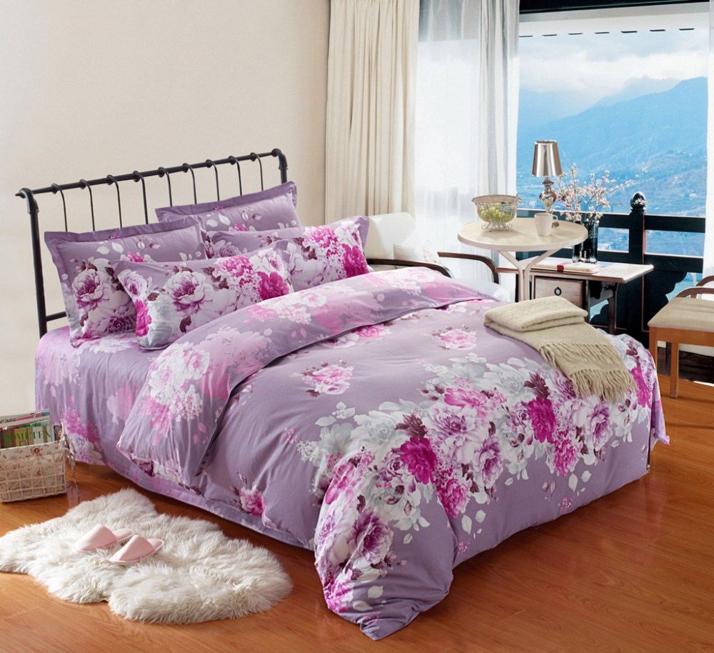 Purple And Pink Comforter Sets