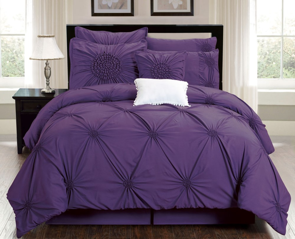 Purple Comforter Set Queen