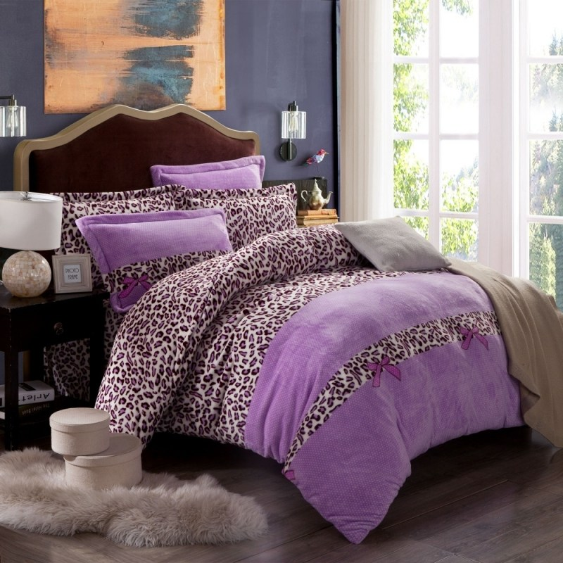 Purple Comforter Sets For Girls