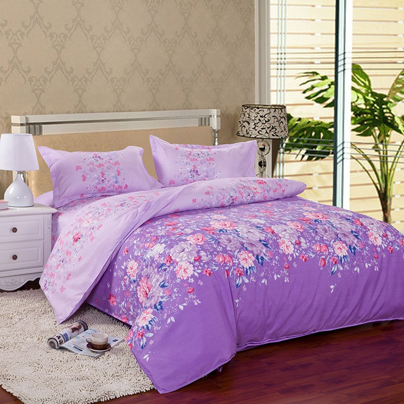 Purple Comforter Sets Full