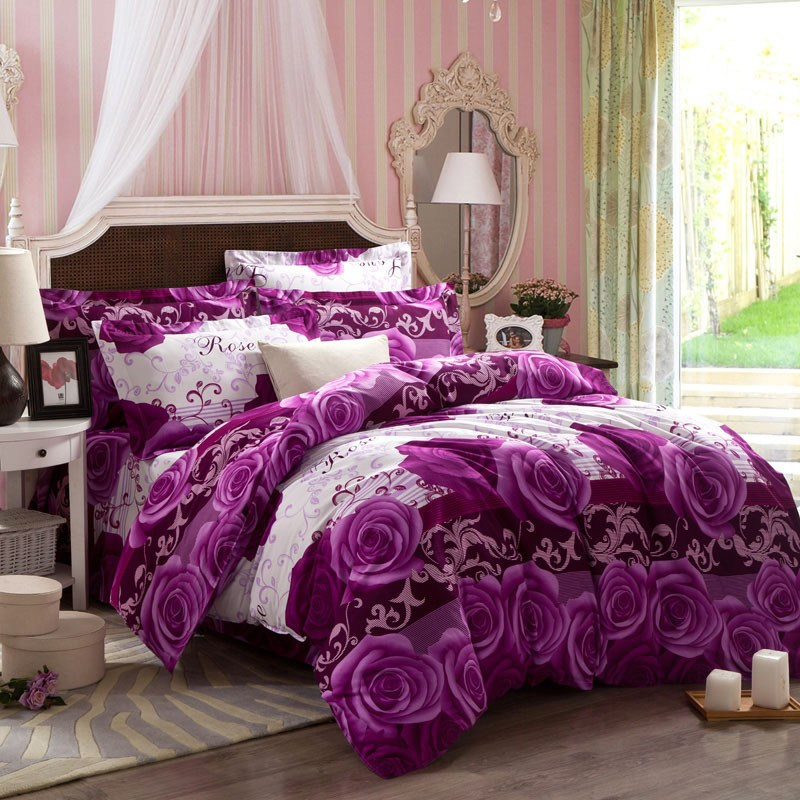 Purple Comforter Sets King