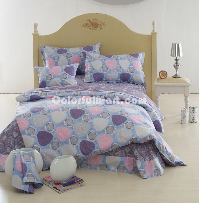 Purple Kids Bedding