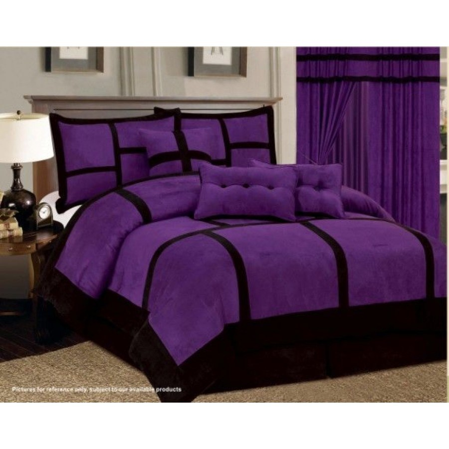 Purple King Comforter Set