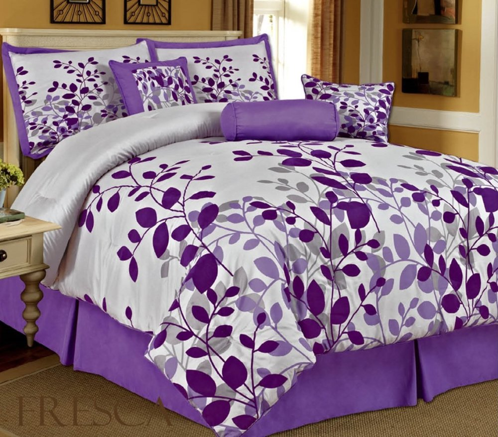 Purple Queen Comforter Set