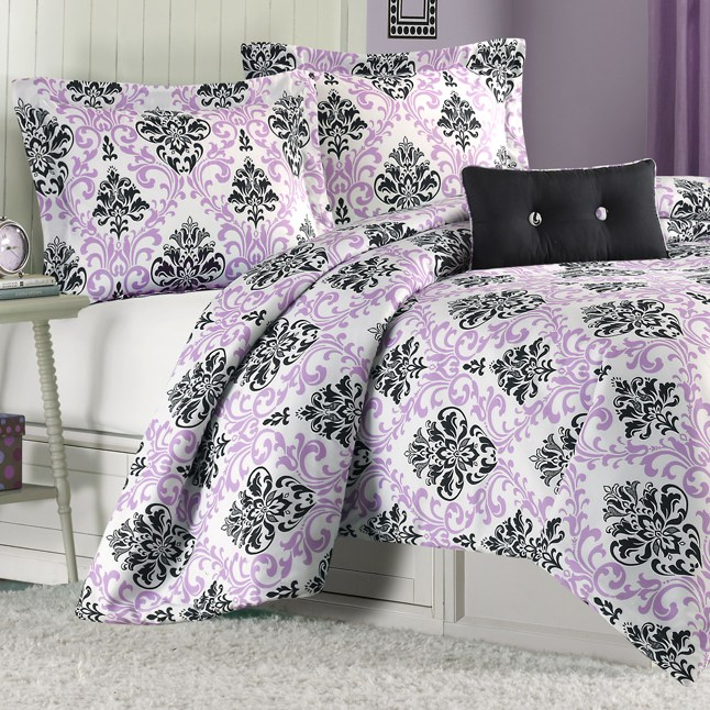 Purple Twin Xl Comforter Set