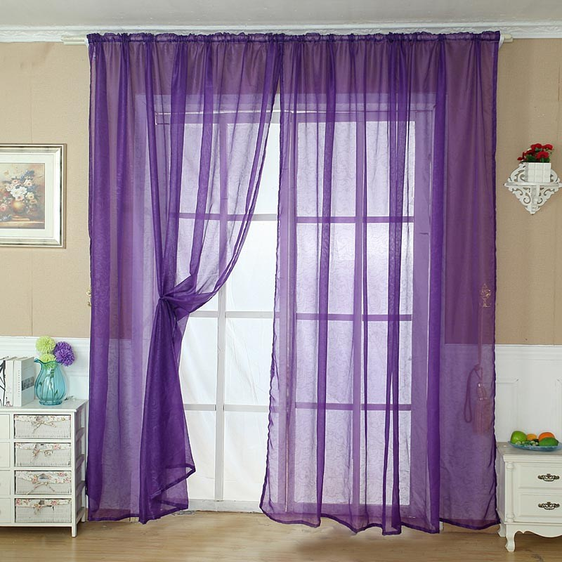 Purple Valance Window Treatments