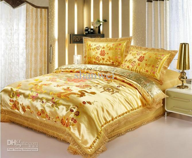Queen Comforter Sets Gold