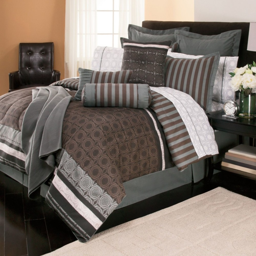 Queen Size Bed In A Bag Comforter Sets