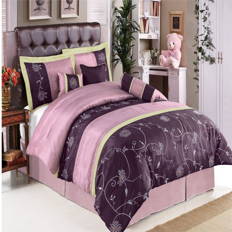 Queen Size Purple Comforter Sets