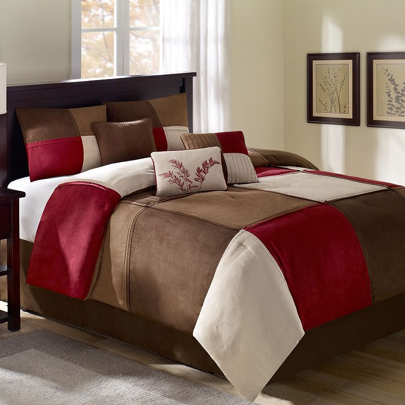 Queen Size Red Comforter Sets