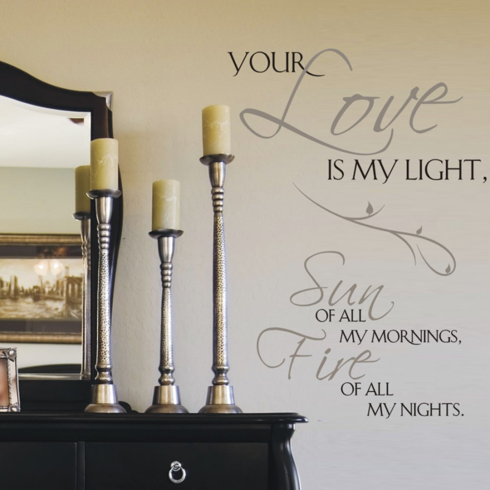 Quote Wall Decals For Bedroom