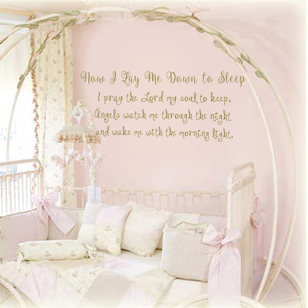 Quote Wall Decals For Nursery