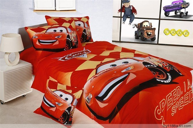 Race Car Comforter Set