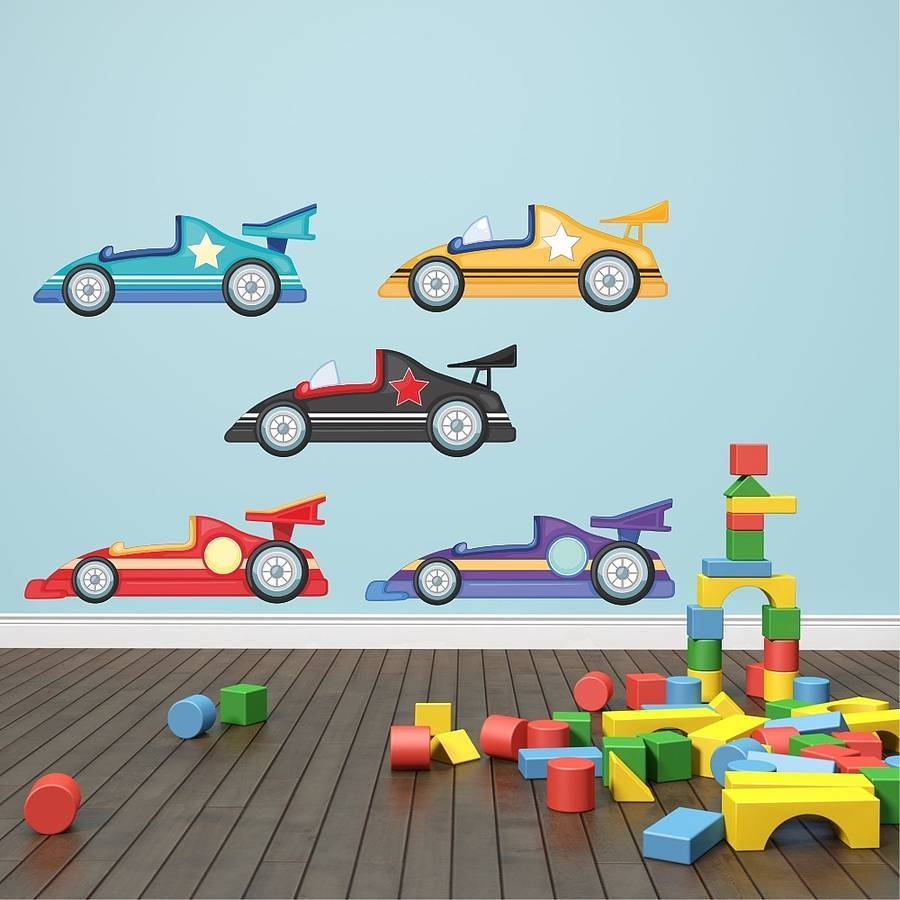 Race Car Wall Decals