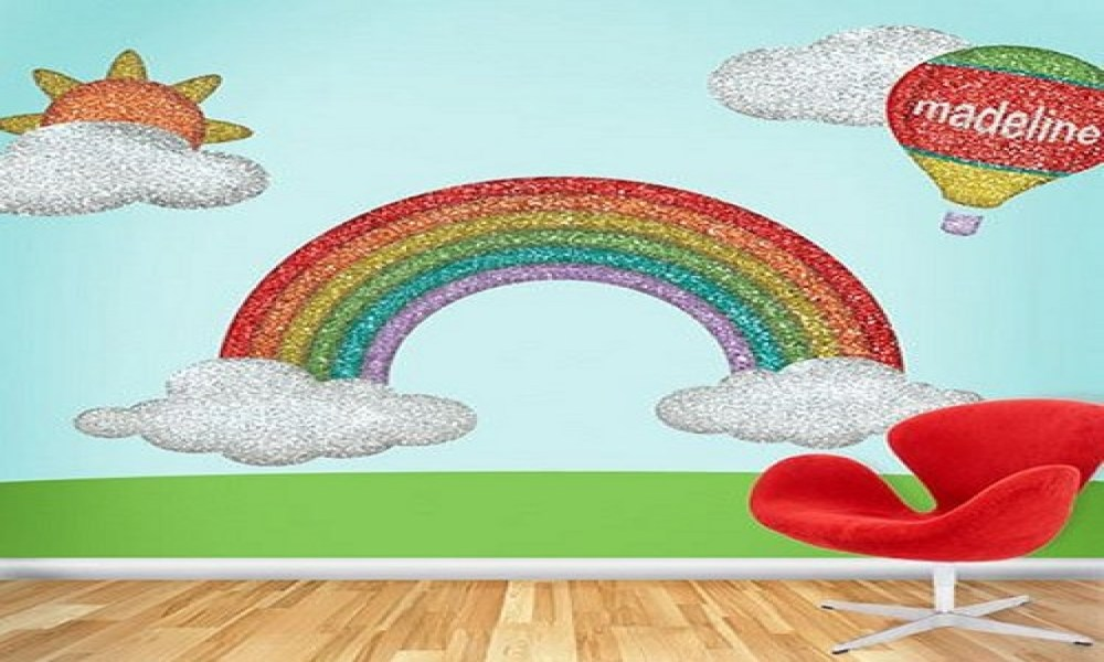 Rainbow Wall Decals Removable