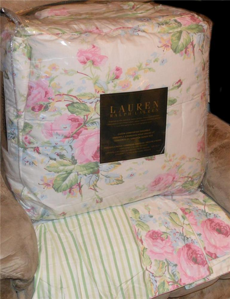 Ralph Lauren Comforter Set Queen