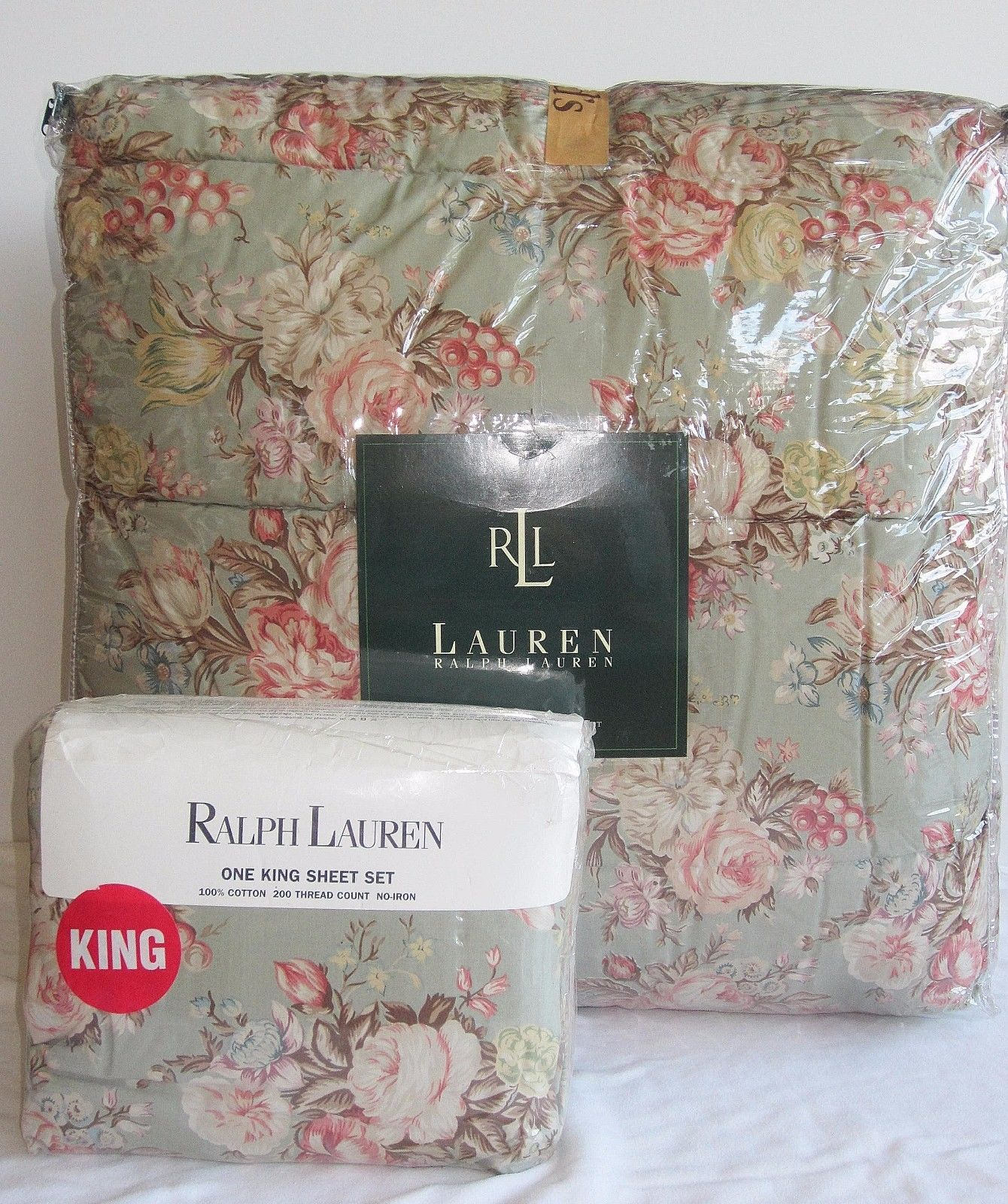 Ralph Lauren King Size Comforter Set