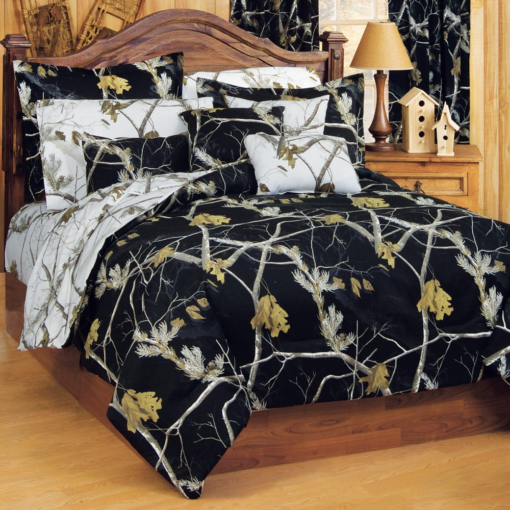 Realtree Comforter Set Full