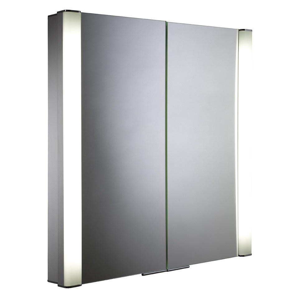 Recessed Illuminated Bathroom Cabinet